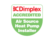 Dimplex Accredited Air Source Heat Pump Installer